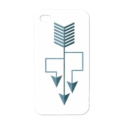 Arrow Paths Apple Iphone 4 Case (white) by Contest1888309