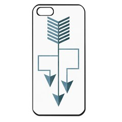 Arrow Paths Apple Iphone 5 Seamless Case (black) by Contest1888309