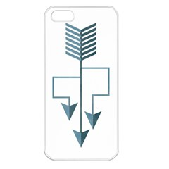 Arrow Paths Apple Iphone 5 Seamless Case (white)