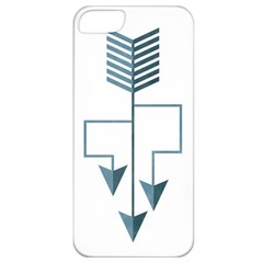 Arrow Paths Apple Iphone 5 Classic Hardshell Case by Contest1888309