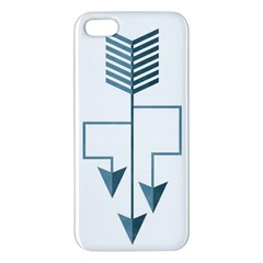 Arrow Paths Apple Iphone 5 Premium Hardshell Case by Contest1888309