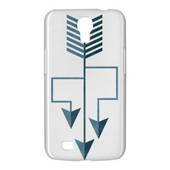 Arrow Paths Samsung Galaxy Mega 6 3  I9200 Hardshell Case by Contest1888309