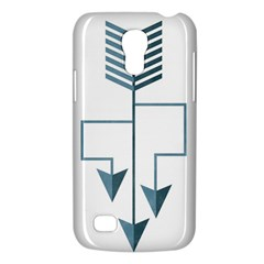 Arrow Paths Samsung Galaxy S4 Mini (GT-I9190) Hardshell Case  by Contest1888309