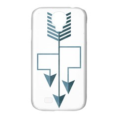 Arrow Paths Samsung Galaxy S4 Classic Hardshell Case (pc+silicone)