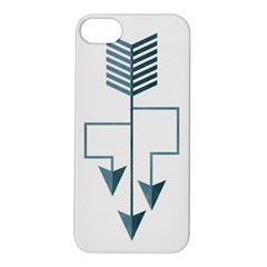 Arrow Paths Apple iPhone 5S Hardshell Case by Contest1888309