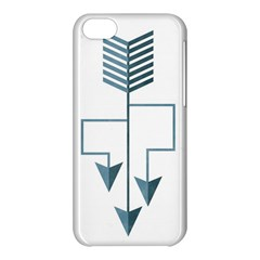 Arrow Paths Apple Iphone 5c Hardshell Case by Contest1888309