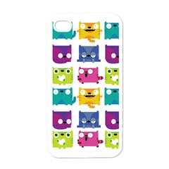 Cats Apple Iphone 4 Case (white) by Contest1771913