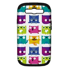 Cats Samsung Galaxy S Iii Hardshell Case (pc+silicone)