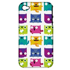 Cats Apple Iphone 4/4s Hardshell Case (pc+silicone) by Contest1771913