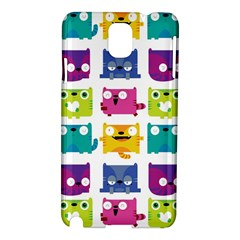 Cats Samsung Galaxy Note 3 N9005 Hardshell Case by Contest1771913