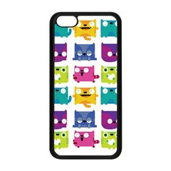 Cats Apple Iphone 5c Seamless Case (black) by Contest1771913