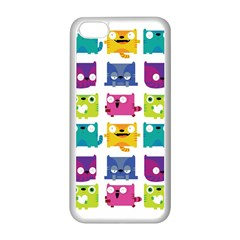 Cats Apple Iphone 5c Seamless Case (white)