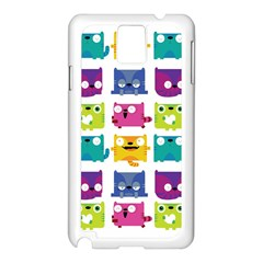 Cats Samsung Galaxy Note 3 N9005 Case (White) by Contest1771913