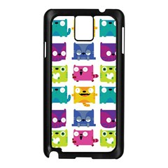 Cats Samsung Galaxy Note 3 N9005 Case (Black) by Contest1771913