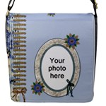 Pretty Laced Small Messenger Bag - Flap Closure Messenger Bag (S)
