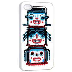 Mimomu Apple Iphone 4/4s Seamless Case (white) by Contest1886839
