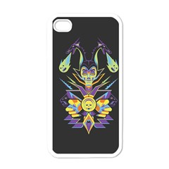 Mistress Of All Evil Apple Iphone 4 Case (white)