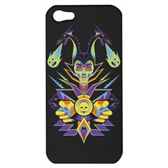 Mistress Of All Evil Apple Iphone 5 Hardshell Case