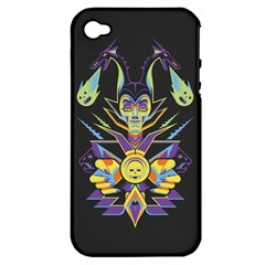 Mistress Of All Evil Apple Iphone 4/4s Hardshell Case (pc+silicone)