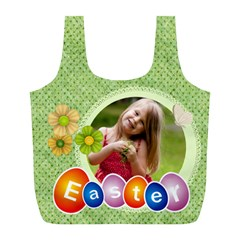 Easter By Easter   Full Print Recycle Bag (l)   Oi0uv9hoazse   Www Artscow Com Back