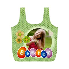 Eater By Easter   Full Print Recycle Bag (m)   1pydipf5bv78   Www Artscow Com Front