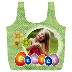 Easter By Easter   Full Print Recycle Bag (xl)   6pkz2gtaq976   Www Artscow Com Front