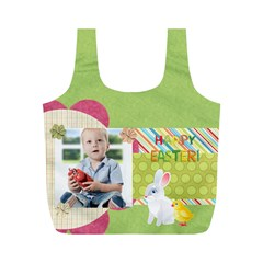 Eater By Easter   Full Print Recycle Bag (m)   Dgudjd1wzpqa   Www Artscow Com Back