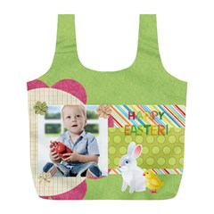Easter By Easter   Full Print Recycle Bag (l)   Hb2zqhuhqgu2   Www Artscow Com Back