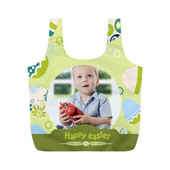 Eater By Easter   Full Print Recycle Bag (m)   U4npky3qhoki   Www Artscow Com Back