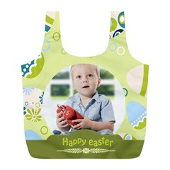 Easter By Easter   Full Print Recycle Bag (l)   Tjyo77t1xof0   Www Artscow Com Front