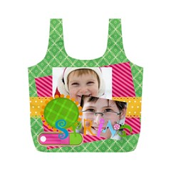 Eater By Easter   Full Print Recycle Bag (m)   Lepi91y0mzm6   Www Artscow Com Front
