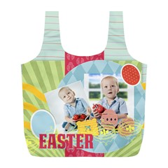 Easter By Easter   Full Print Recycle Bag (l)   M5gnhfp5efds   Www Artscow Com Front