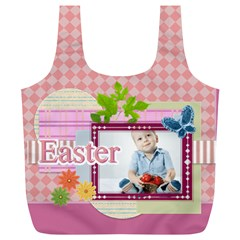 Easter By Easter   Full Print Recycle Bag (xl)   Kdg22i9sj16d   Www Artscow Com Back