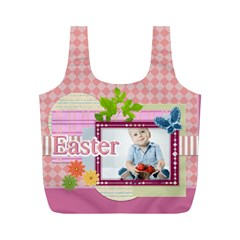 Eater By Easter   Full Print Recycle Bag (m)   7lk92kzajmad   Www Artscow Com Back
