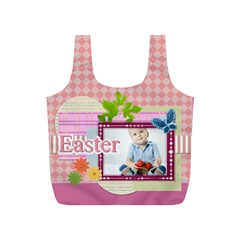 Eater By Easter   Full Print Recycle Bag (s)   Euegzkcvzrg7   Www Artscow Com Front