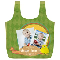Easter By Easter   Full Print Recycle Bag (xl)   Muzr89vazufx   Www Artscow Com Back