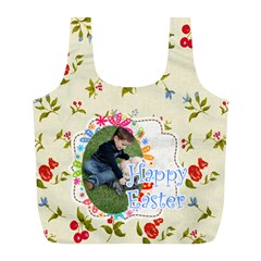 Easter By Easter   Full Print Recycle Bag (l)   4ypm23mjh486   Www Artscow Com Back