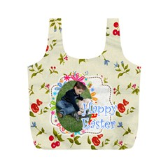 Eater By Easter   Full Print Recycle Bag (m)   29ukgqrdpf6e   Www Artscow Com Back