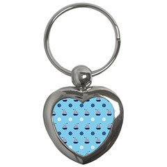 Summer Sailing Key Chain (heart)