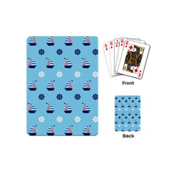 Summer Sailing Playing Cards (mini) by StuffOrSomething