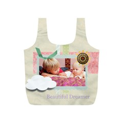 Baby By Baby   Full Print Recycle Bag (s)   Dykdnqm8qm8l   Www Artscow Com Front