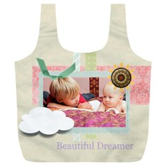Baby By Baby   Full Print Recycle Bag (xl)   L7lzmidnfp8l   Www Artscow Com Back