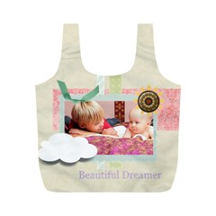 Baby By Baby   Full Print Recycle Bag (m)   0zzewrkwes3y   Www Artscow Com Back