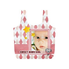Baby By Baby   Full Print Recycle Bag (s)   C0cdc0oq26yh   Www Artscow Com Front