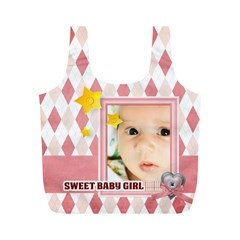 Baby By Baby   Full Print Recycle Bag (m)   Wzpmlj95fds0   Www Artscow Com Back