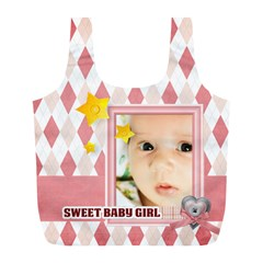 Baby By Baby   Full Print Recycle Bag (l)   4u62hdmu1lys   Www Artscow Com Back