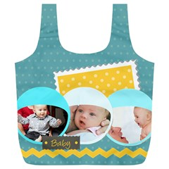 Baby By Baby   Full Print Recycle Bag (xl)   Y04ic1bojvst   Www Artscow Com Back