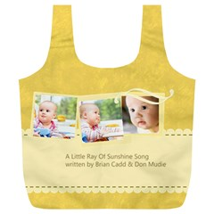 Baby By Baby   Full Print Recycle Bag (xl)   Iqtifyuas9s8   Www Artscow Com Back