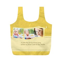 Baby By Baby   Full Print Recycle Bag (m)   8sdi2df2llxi   Www Artscow Com Front