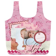 Baby By Baby   Full Print Recycle Bag (xl)   L3v6zv0bzosx   Www Artscow Com Back